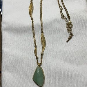 Chloe + Isabel Jewelry - Chloe and Isabel Gold and Green Long Necklace